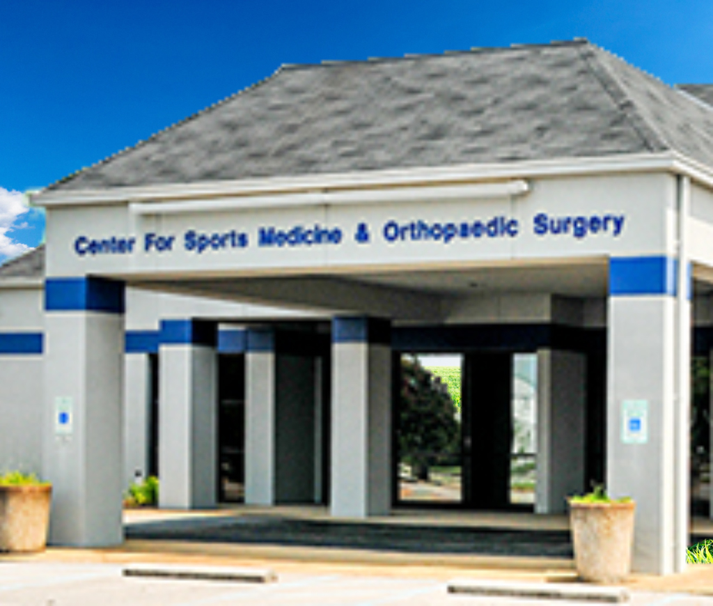 Services for enter for Sports Medicine & Orthopaedic Surgery (CSMOS)